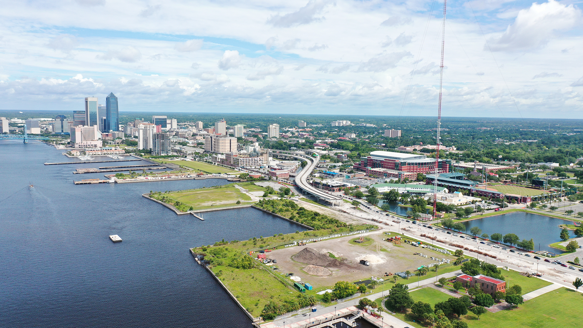 Jacksonville - Shipyad Looking West